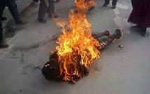 Il tente de s'immoler par le feu et se retrouve aux urgences à l'hôpital Matlaboul Fawzeyni de Touba
