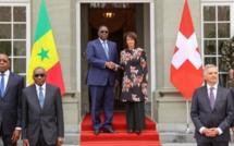 """Macky Sall à berne: """"Les ressortissants suisses seront exemptés de visa"""""""