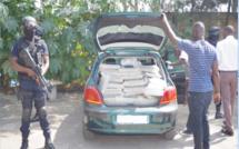 Thiès: Un caporal-chef des sapeurs-pompiers arrêté avec 150 kg de chanvre indien