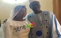 EN IMAGES Mariage de Pape Cheikh : Appréciez Kya Aïdara sous sa robe de mariée