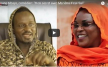 Alioune Mbaye, comédien: « Mon secret avec Mariéme Faye Sall »