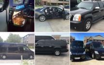 """""""Houston limo"""" Insa Goudiaby et Max Boye vendent quelques voitures de leur société"""