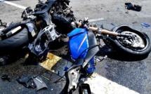 Un Asp à moto fauché par un 4×4