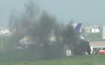 Urgent – Incendie à l'Aéroport Léopold Sédar Senghor