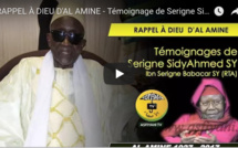 Serigne Sidy Ahmed Sy magnifie Al Amine
