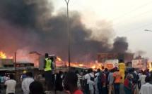 Dakar: un violent incendie provoque une coupure générale d'électricité