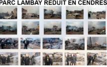 Parc Lambay réduit en cendres