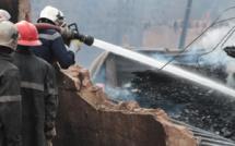 Incendie au Parc Lambaye : Les sapeurs-pompiers dépassés