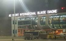 Outre l'enseigne manquant une lettre, ces autres  couacs notés à l'aéroport Blaise Diagne