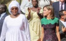 La Première Dame Marième Faye Sall en compagnie de la reine d'Espagne