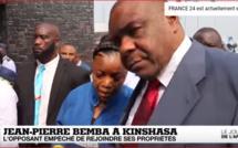 Retour triomphal de Jean-Pierre Bemba à Kinshasa, amertume à Bangui