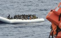 123 migrants sénégalais échouent sur une plage marocaine