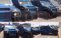 La gendarmerie n'a jamais acquis de véhicules blindés pour la Présidentielle