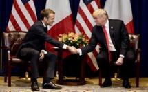 """À New York, Trump et Macron s'engagent à se """"coordonner sur les grands dossiers"""""""