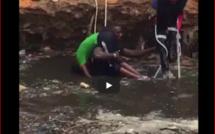 Patte d'Oie : Repêchage du corps d'un garçon mort noyé dans un chantier de la CSE… Regardez