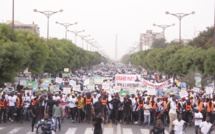 Les images de la marche du Front de Résistance Nationale