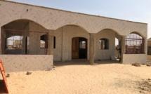 Le mausolée où repose désormais Sidy Lamine Niass
