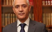 Ministre de la Jeunesse et des Sports M. Rachid Talbi Alami