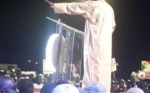 Accueil du candidat : Mbagnick Ndiaye, coordonnateur de la coalition Benno Book Yaakaar départementale de Fatick remercie la population