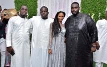 Mariage de Mamadou fils de Amadou Seck Eurogerm: Amadou Sall,fils du président en toute complicité avec la nouvelle mariée
