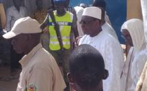 Les images de l'arrivée du président Macky Sall au Daaka de Médina Gounass…