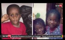 Voici les enfants décédés dans l'incendie tragique à la Zone de Captage