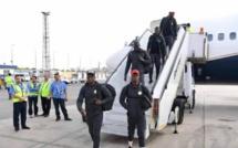 CAN 2019 : J-6     Voici l'arrivée des Lions du Sénégal en Egypte !