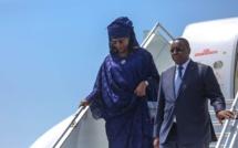 Les images de l'arrivée du PR MACKY Sall à Abidjan