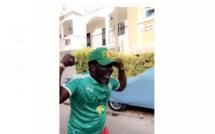 Regardez comment Mbaye Dieye Faye jubile après la qualification de nos Gaindes