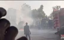 Nguéniène : La limousine Présidentielle prend feu