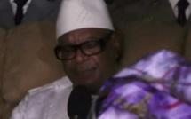 NGUÉNIÈNE : Les larmes du président Malien Ibrahima Boubacar Keita...