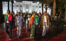 VIDEO - Les lions au Palais avec Macky Sall: Revivez le discours du Président de la République