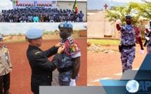 LA MÉDAILLE DES NATIONS UNIES REMISE À 139 POLICIERS SÉNÉGALAIS