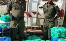 Kédougou : La Douane saisit 1440 Kg de chanvre indien