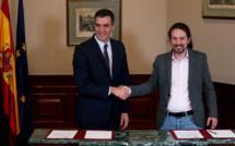 En Espagne, le parti socialiste et Podemos s'entendent pour former un gouvernement