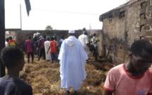 Incendie chez Imam Alioune NDAO