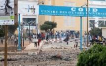 Urgent- Ucad: Les étudiants affrontent la police pour réclamer la libération de leurs camarades arrêtés