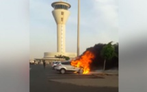 Incendie d'un véhicule à AIBD : la précision des pompiers de l'APPAS