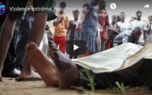 Violence extrême, meurtres sadiques : La population terrorisée par la fréquence des drames...