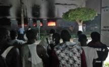 Campus social : Le Restaurant central du Pavillon A prend feu