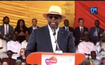 Inauguration Parc éolien de Taïba Ndiaye / Président Macky Sall : « Le Sénégal émergent, c'est le Sénégal qui carbure, poussé dans son élan par un mix énergétique… »