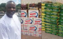 Covid-19: Malik Oumar Bayal Sow vient en appui aux habitants de son village