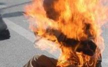 Thiès : un père de famille aspergé d'essence et brûlé vif par son fils
