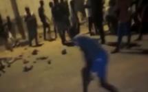 DIOURBEL / Manifestations anti couvre-feu... Des jeunes affrontent la Police à Keur Gou Mack.