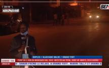 Des jeunes manifestent contre le couvre-feu à Niarry Tally et à Grand Yoff...