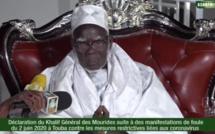 Manifestations à Touba : Revivez la déclaration du khalife général des mourides