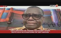 DÉCLARATION de PIERRE GOUDIABY ATEPA suite aux accusations d'ABY NDOUR