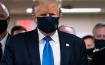 Covid-19 : Donald Trump porte un masque en public pour la première fois