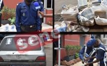 Péage de Toglou : La gendarmerie saisit 240 kg de drogue à bord de 3 véhicules