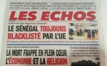 LES LOCAUX DU JOURNAL « LES ECHOS » ATTAQUÉS PAR DES PRÉSUMÉS MOUSTARCHIDINES
